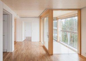 Vista interior apartamento