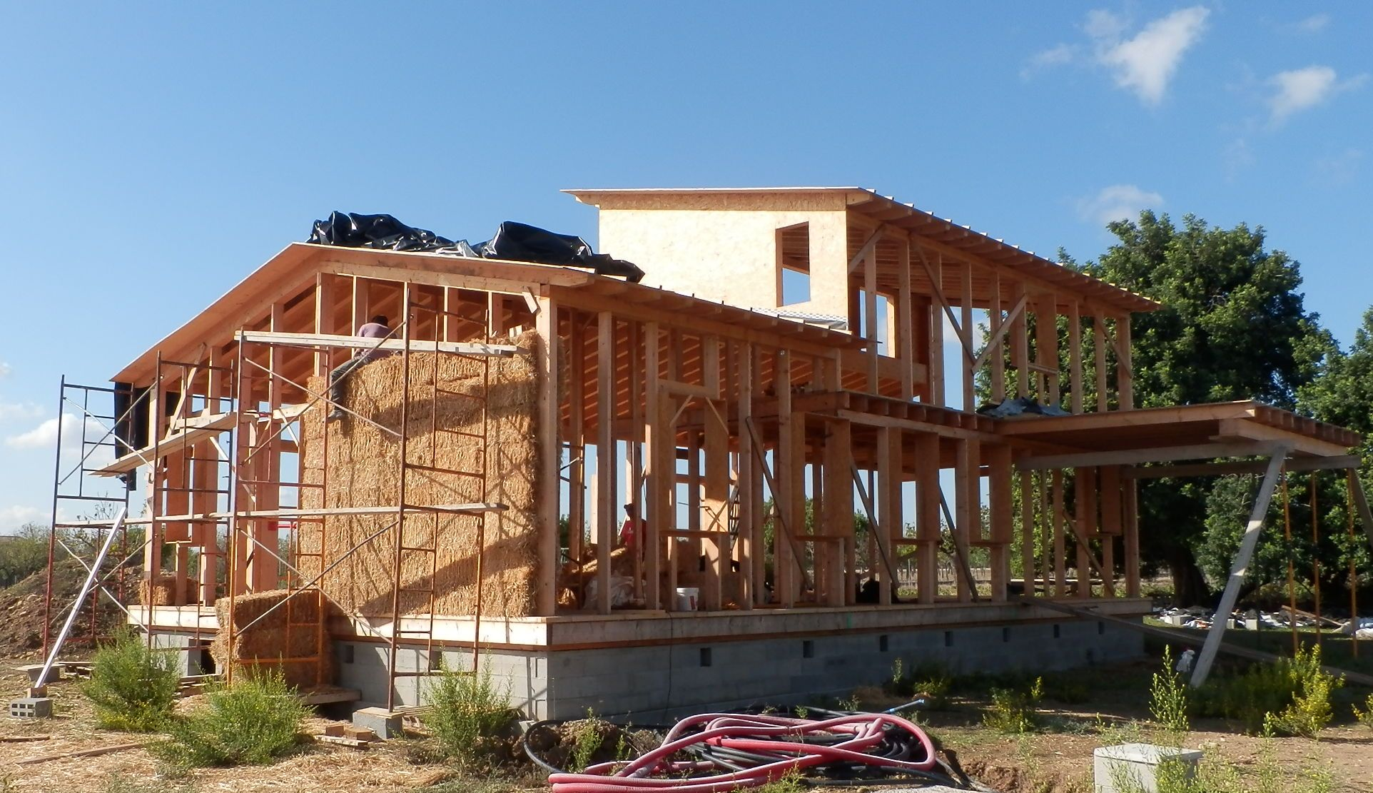 La Construcción Sostenible con Paja