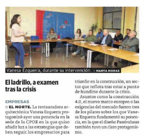Reseña Norte de Castilla