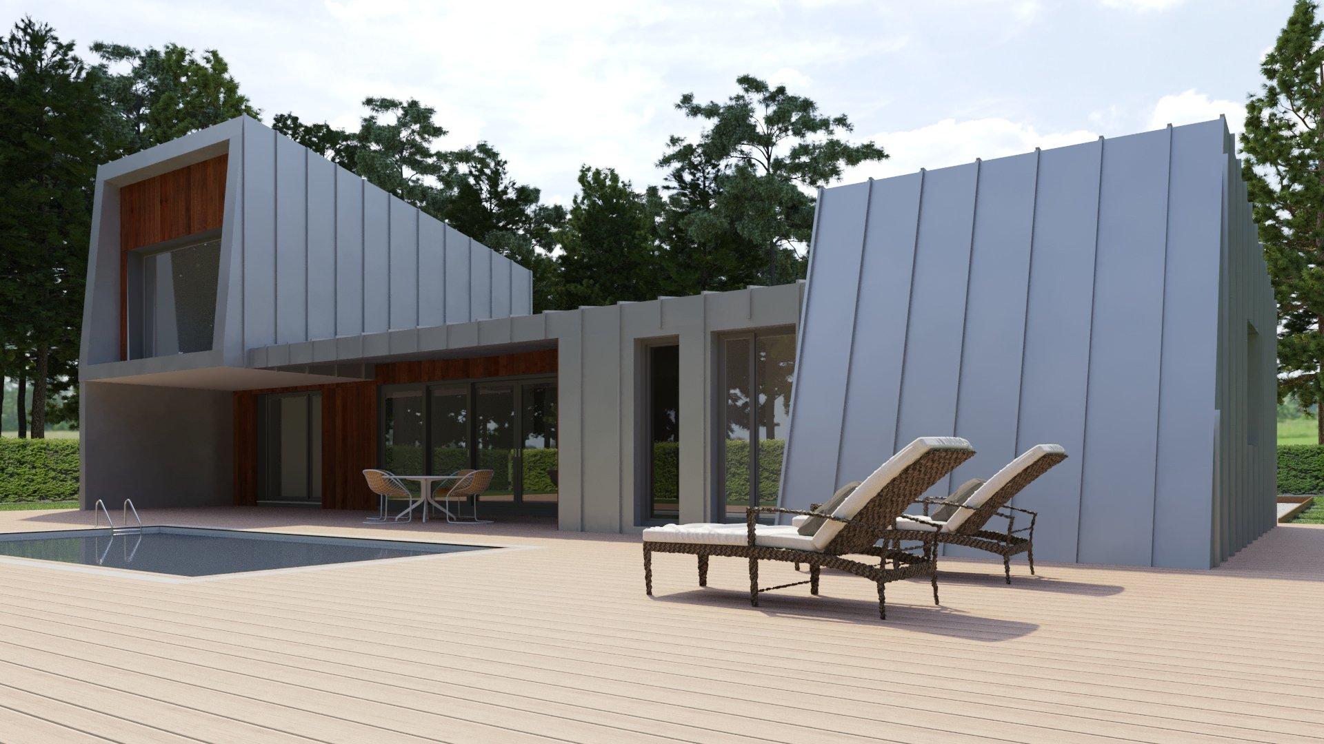 Casa Pasiva de Diseño Singular